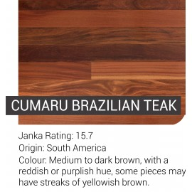 Pre-Finished Cumaru (Brazilian Teak )