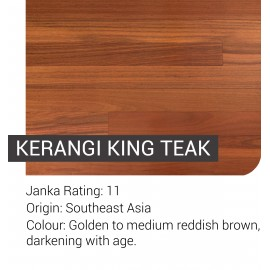 Pre-Finished King Teak (Kerangi)